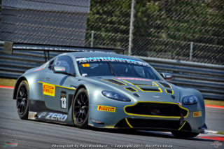 Charl Arangies (Stradale Aston Martin Vantage GT3) should be the man to beat in the races for G&H Transport Extreme Supercars