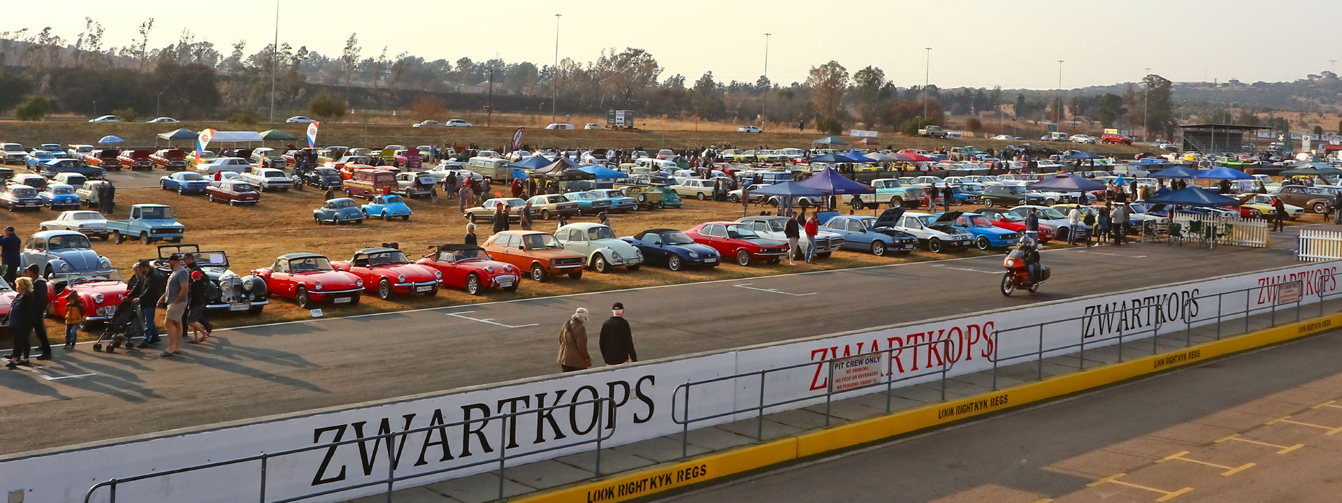 Participative Motoring is a major industry in South Africa which provides employment to over a 100000 people