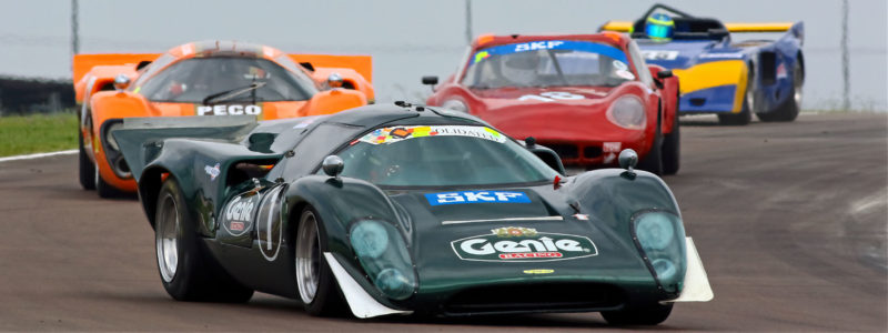 Real Racers: The Big V8 Lola T70's Incredible & Practical Racers