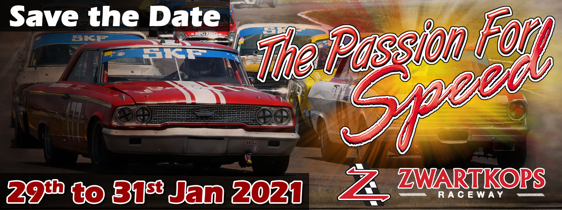 Save the Date: Passion for Speed - 29th to 31st January 2021
