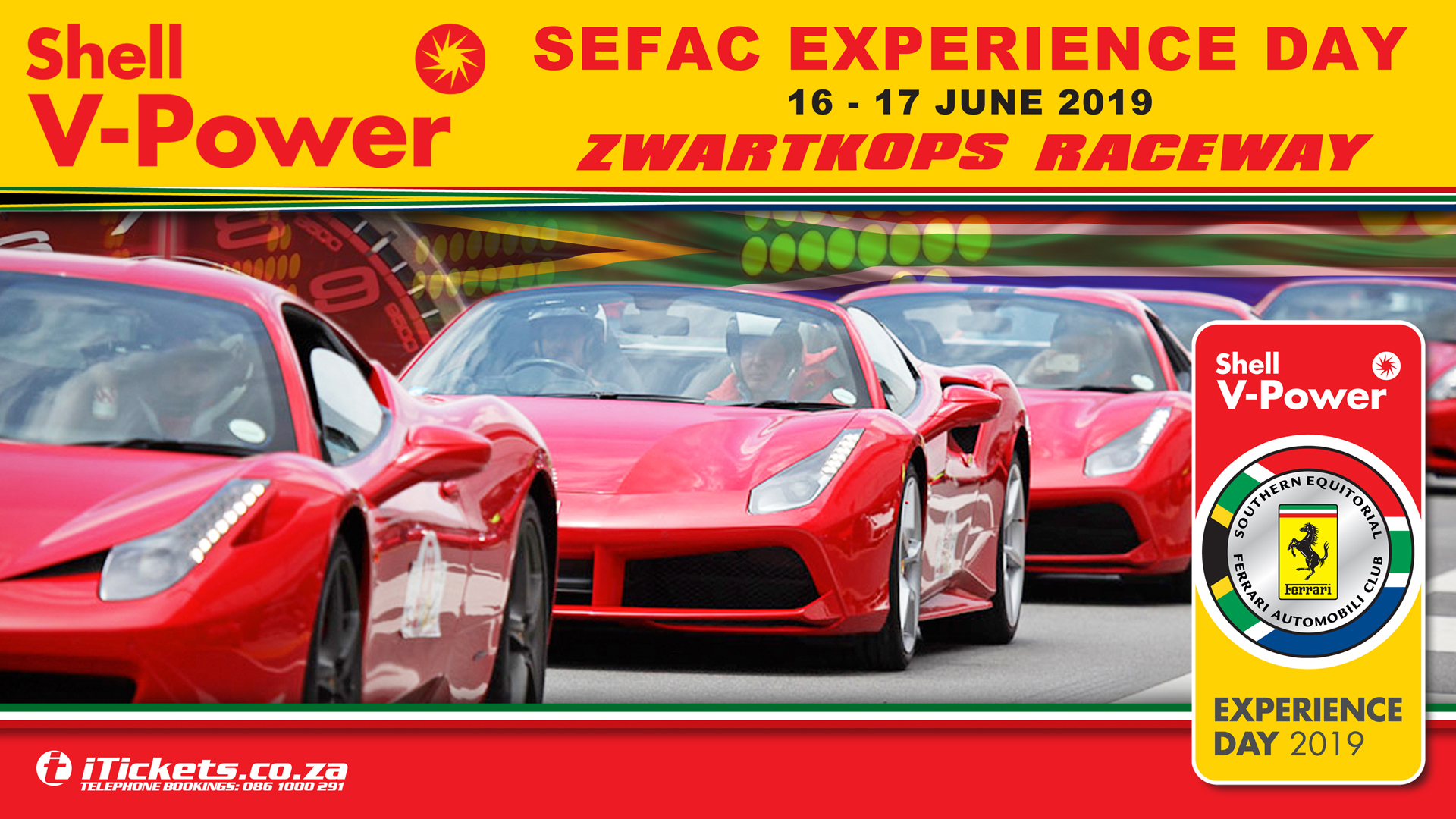 Shell V- Power SEFAC Experience Day - 2019