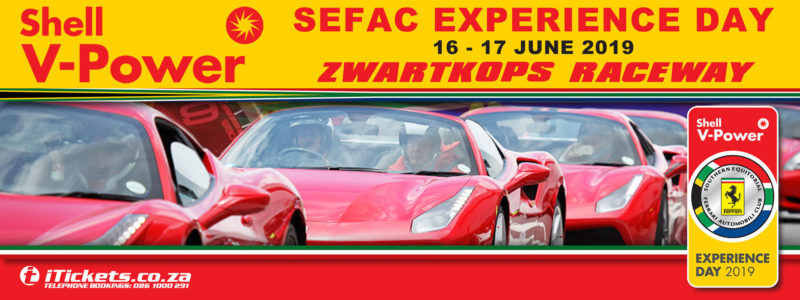 Shell V- Power SEFAC Experience Day, Zwartkops Raceway 16th & 17th June 2019