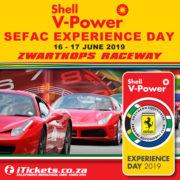 Shell V- Power SEFAC Experience Day, Zwartkops Raceway 16th & 17th June 2019