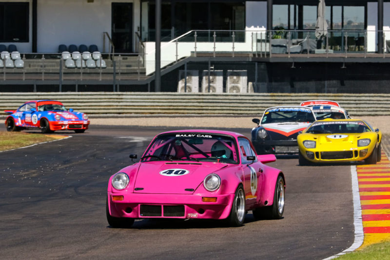 The real excitement came from Peter Bailey (Porsche 911)