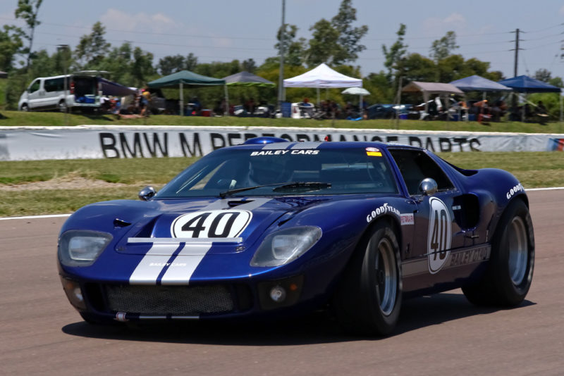 Peter Bailey (1965 Ford GT40)